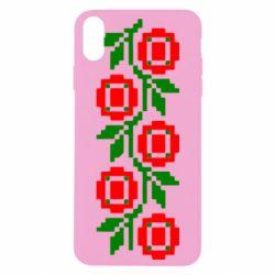Чехол для iPhone Xs Max Українська вишивка - FatLine