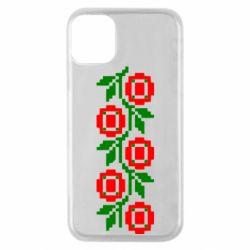 Чехол для iPhone 11 Pro Українська вишивка