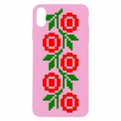 Чехол для iPhone X Українська вишивка - FatLine