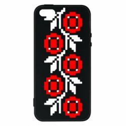 Чехол для iPhone5/5S/SE Українська вишивка - FatLine