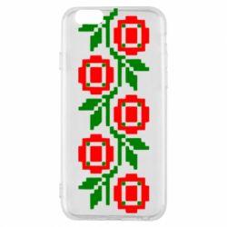Чехол для iPhone 6/6S Українська вишивка - FatLine