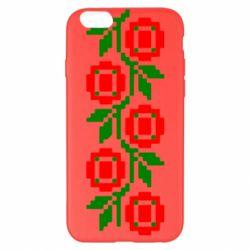 Чехол для iPhone 6 Plus/6S Plus Українська вишивка - FatLine