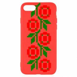 Чехол для iPhone 7 Українська вишивка - FatLine