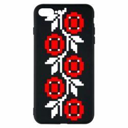 Чехол для iPhone 7 Plus Українська вишивка - FatLine