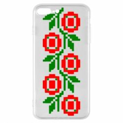 Чехол для iPhone 8 Plus Українська вишивка - FatLine