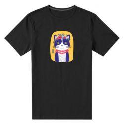 Чоловіча стрейчева футболка Українська киця