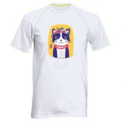 Чоловіча спортивна футболка Українська киця