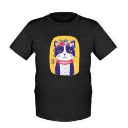 Дитяча футболка Українська киця