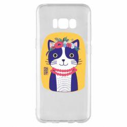 Чохол для Samsung S8+ Українська киця