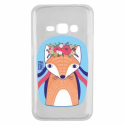 Чохол для Samsung J1 2016 Українська лисиця