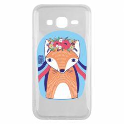 Чохол для Samsung J5 2015 Українська лисиця
