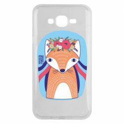 Чохол для Samsung J7 2015 Українська лисиця