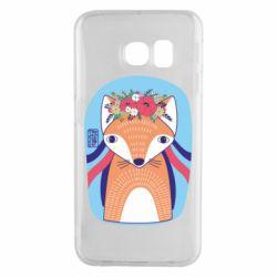 Чохол для Samsung S6 EDGE Українська лисиця
