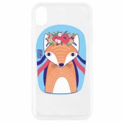 Чохол для iPhone XR Українська лисиця