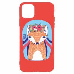 Чохол для iPhone 11 Pro Українська лисиця