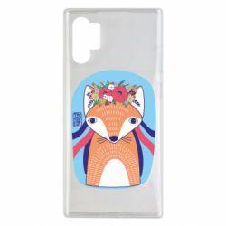 Чохол для Samsung Note 10 Plus Українська лисиця