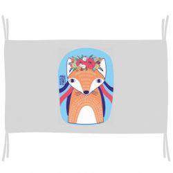 Прапор Українська лисиця