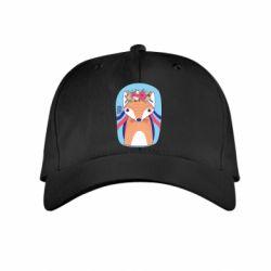 Дитяча кепка Українська лисиця