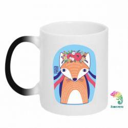 Кружка-хамелеон Українська лисиця