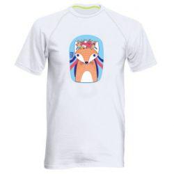 Чоловіча спортивна футболка Українська лисиця