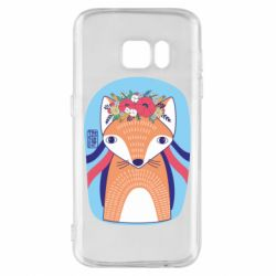 Чохол для Samsung S7 Українська лисиця