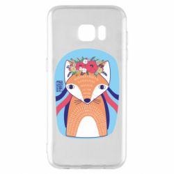 Чохол для Samsung S7 EDGE Українська лисиця