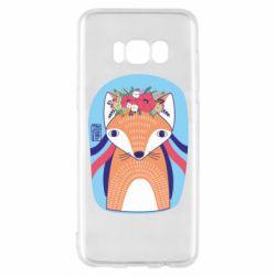 Чохол для Samsung S8 Українська лисиця