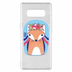Чохол для Samsung Note 8 Українська лисиця
