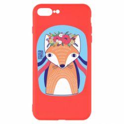 Чохол для iPhone 8 Plus Українська лисиця