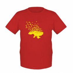 Детская футболка Українські птахи - FatLine