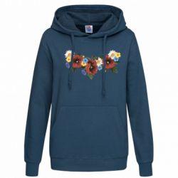 Женская толстовка Украинские цветы - FatLine