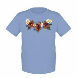 Детская футболка Украинские цветы - FatLine