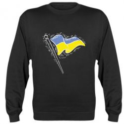 Реглан (свитшот) Украинский флаг - FatLine