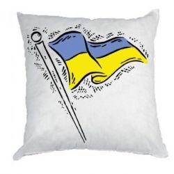 Подушка Украинский флаг