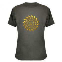 Камуфляжная футболка Украинский герб-солнце Голограмма