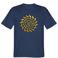 Футболка Украинский герб-солнце Голограмма