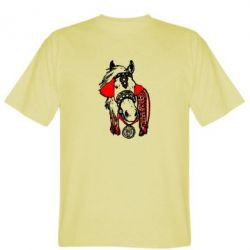 Мужская футболка Українській кінь - FatLine