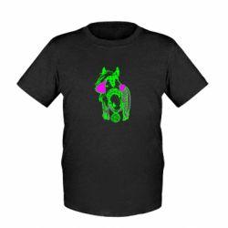 Детская футболка Українській кінь - FatLine