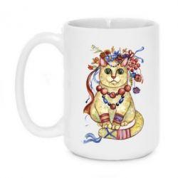 Кружка 420ml Украинский кот