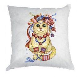 Подушка Український кіт