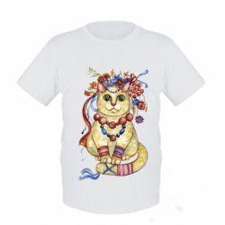 Детская футболка Украинский кот