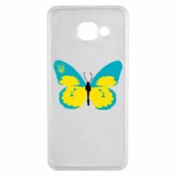 Чохол для Samsung A3 2016 Український метелик