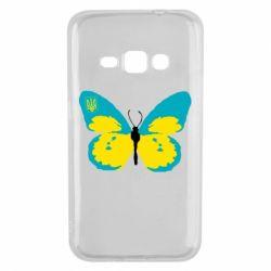 Чохол для Samsung J1 2016 Український метелик