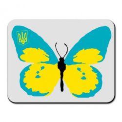 Коврик для мыши Український метелик - FatLine