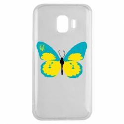 Чехол для Samsung J2 2018 Український метелик