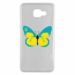 Чехол для Samsung A7 2016 Український метелик