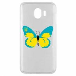 Чохол для Samsung J4 Український метелик