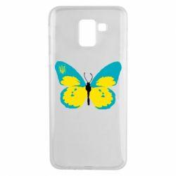 Чехол для Samsung J6 Український метелик