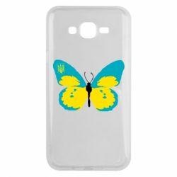 Чохол для Samsung J7 2015 Український метелик