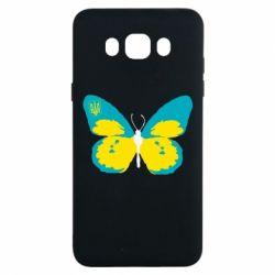 Чохол для Samsung J7 2016 Український метелик